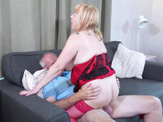 TrishasDiary - New Red Basque and Shoes Pt 3 HD Video
